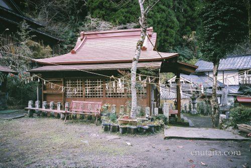 杖立温泉の神社