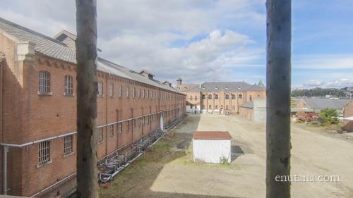 奈良少年刑務所、旧奈良監獄の赤レンガ